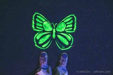 Porlwi by Nature - Citadel - Neon Street Art