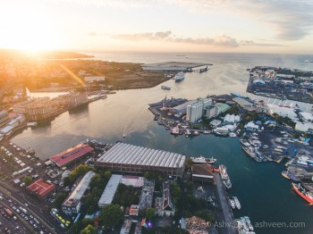 Porlwi by Nature - Drone - Waterfront & Granary