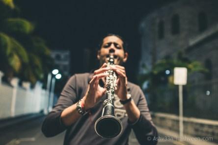 Porlwi by Nature - Bourbon Street - Street Clarinetist