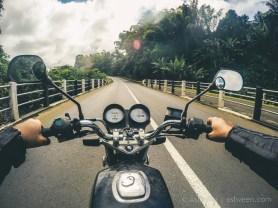 Road Trip Mauritius - Riviere des Anguilles - Haojue 125