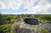 Roches Noires Wetlands Lime Furnace Top - Ashveen