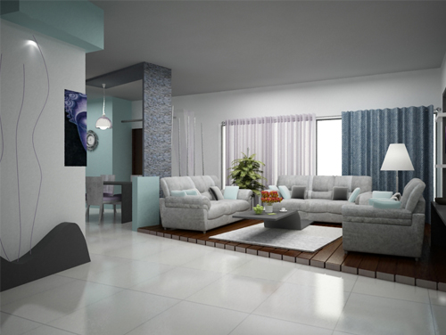 Living room interior design style