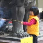 В Китае, пожар, маленький мальчик