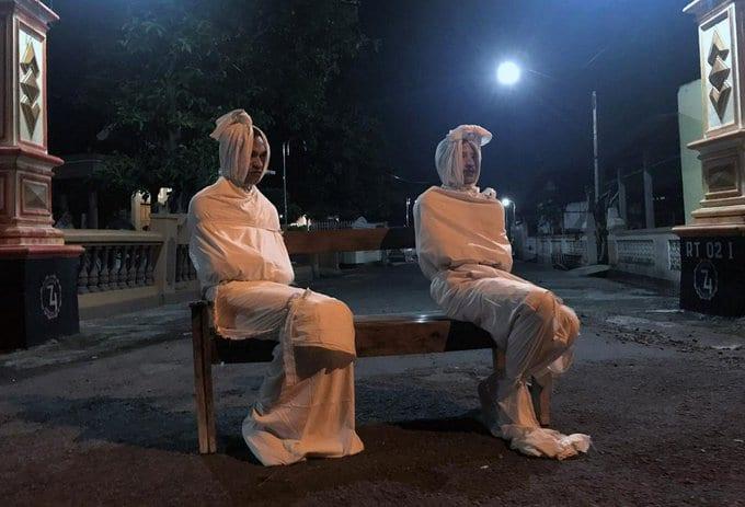 призраки, в Индонезии