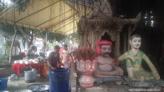Pagoda en Phnom Penh - Camboya