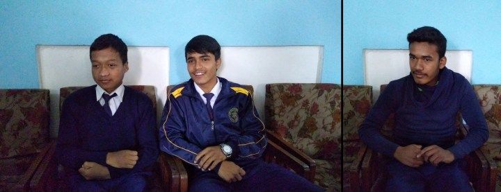 Aashish, Birendra & Manoj