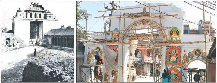 Patan Dhoka a través del tiempo