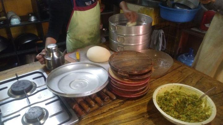 Preparando los ingredientes