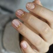 stunning bridesmaid nail art