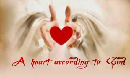 A HEART ACCORDING TO GOD: communitarian retreat (Good Friday 2020)