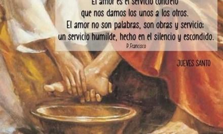 Let me be your servant… HOLY THURSDAY