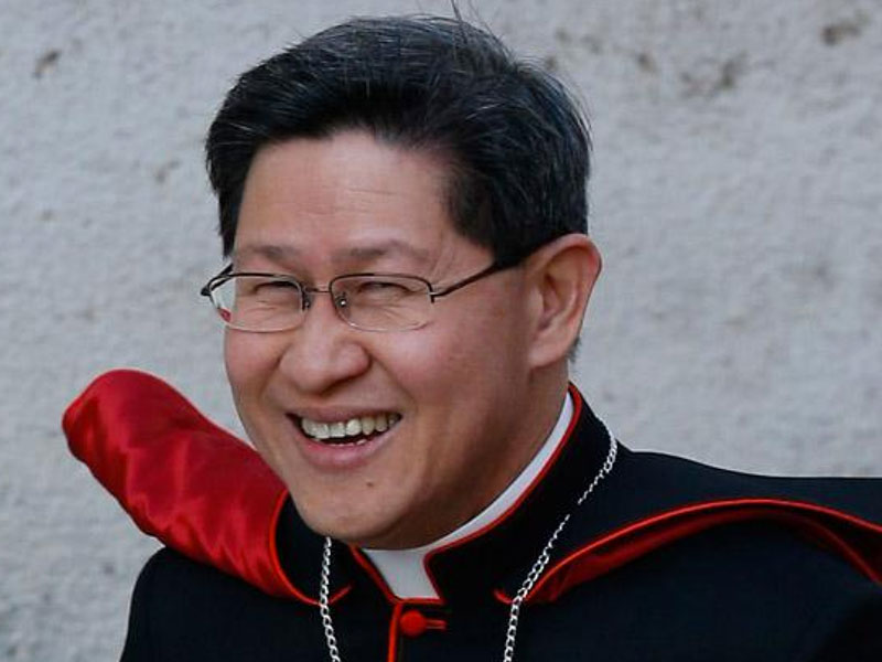 MESSAGE OF CARDINAL TAGLE FOR PALAUTIAN FAMILY
