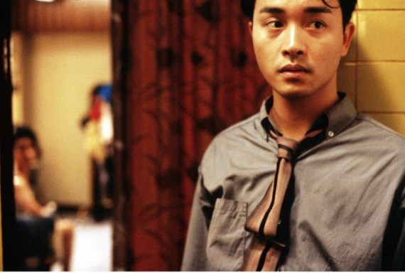 Leslie Cheung in Days of Being Wild (photo courtesy of PhotoFest)