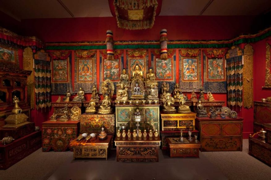 The Tibetan Shrine from the Alice Kandell Collection