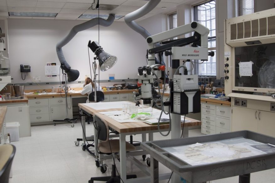 The Freer|Sackler Objects Lab.