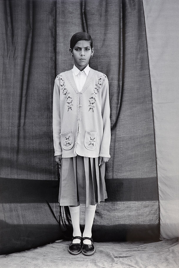 Kanta, from the series Balika Mela; Gauri Gill (b. 1970, India); 2003–10; inkjet print; Purchase—Friends of the Freer and Sackler Galleries, S2013.6