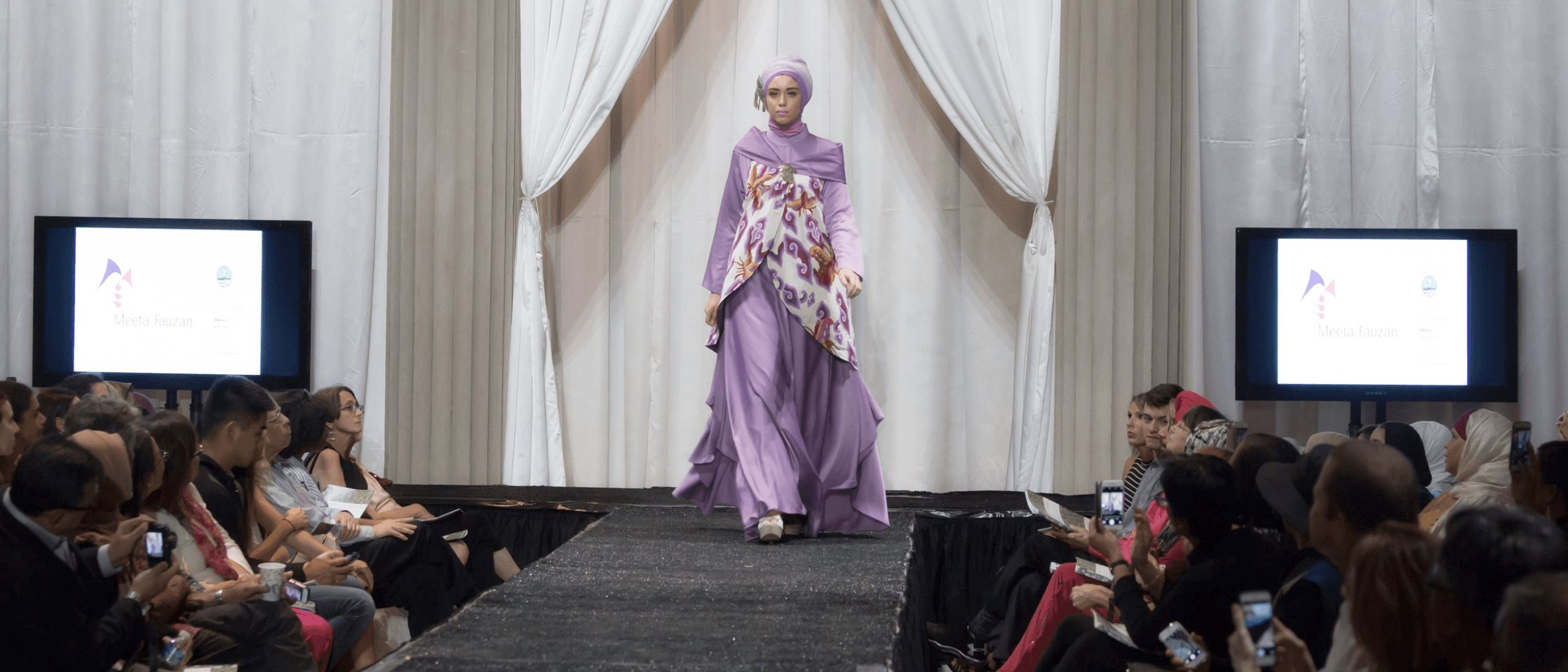 A scene from the Performing Indonesia fashion show