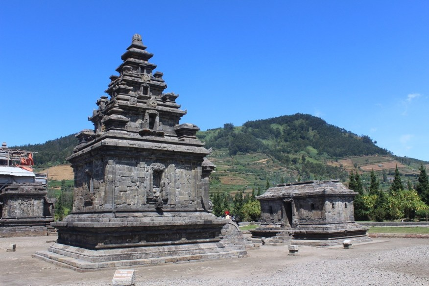 Candi Arjuna, Dieng Plateau, temple in a South Indian architectural mode
