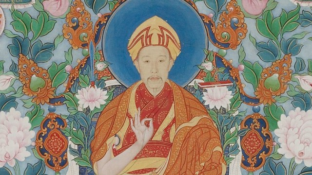 The Qianlong Emperor as Manjushri, the Bodhisattva of Wisdom, F2000.4
