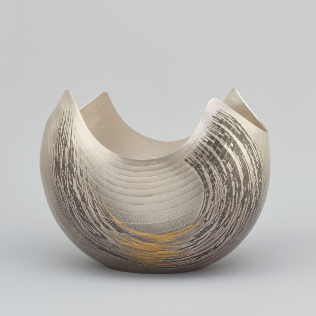Huge Waves/Thunderous Shouts by Osumi Yukie - side view