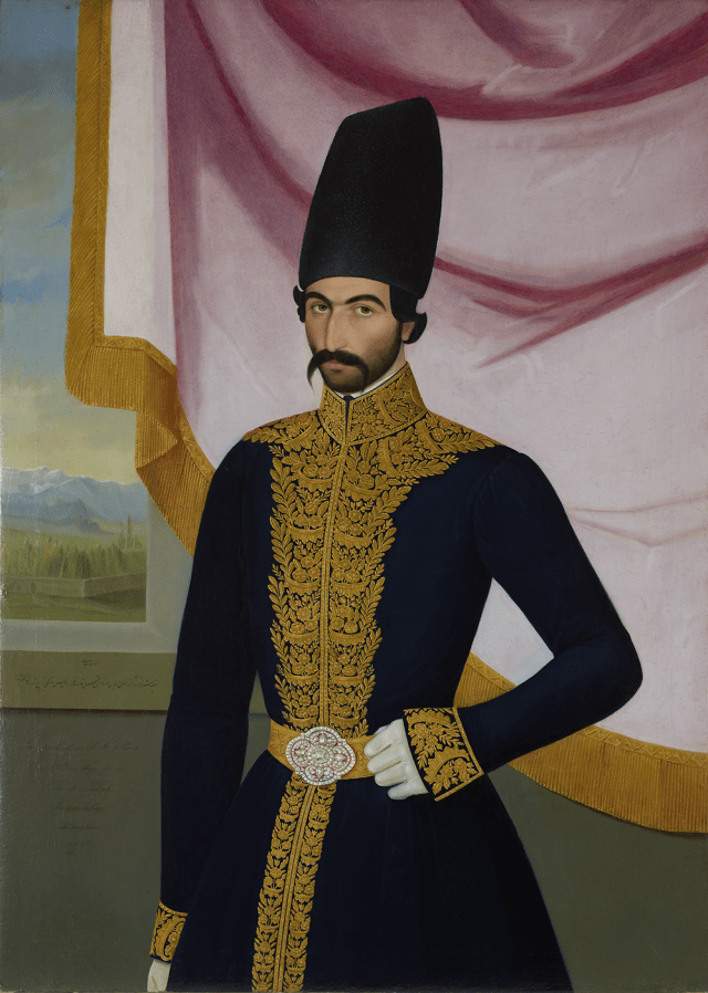 Portrait of Jalal al-Din Mirza (ca. 1827–1872), son of Fath-Ali Shah
