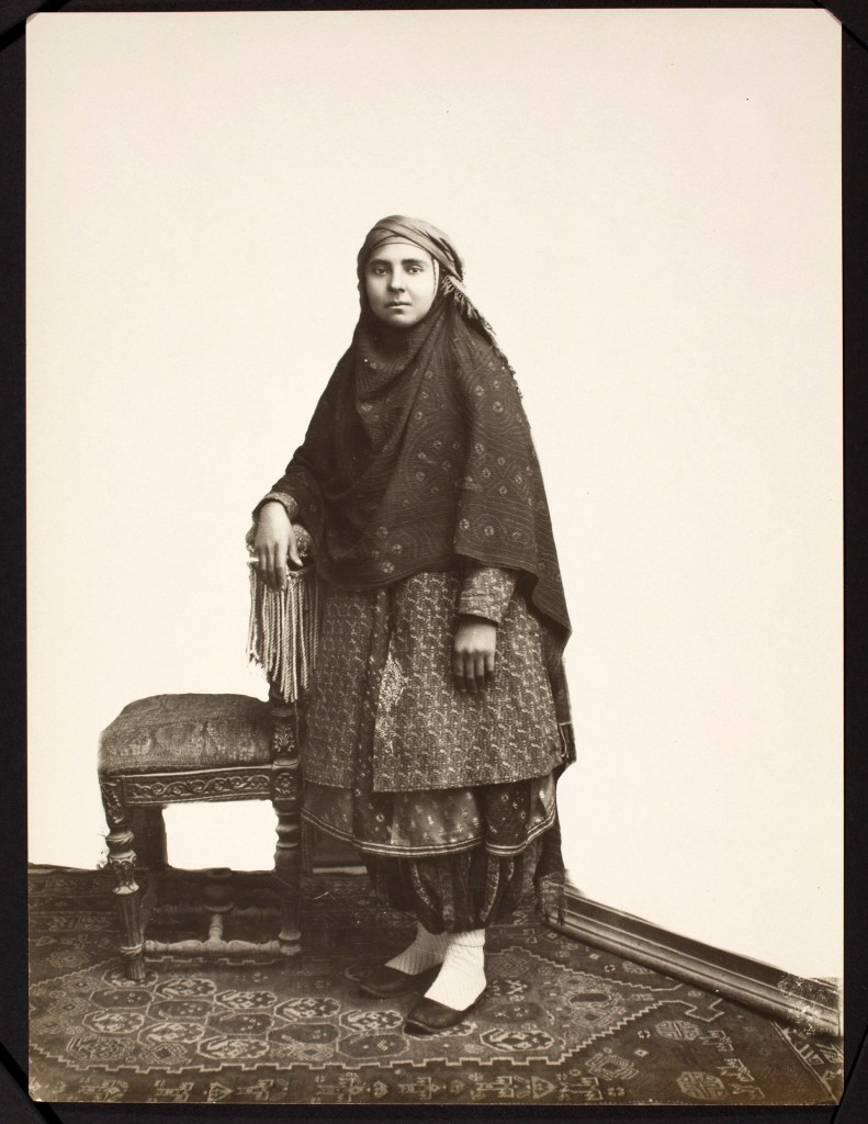 Photo, Sevruguin, Antoin,; b&w ; 17 cm. x 22.7 cm.; Myron Bement Smith Collection: Antoin Sevruguin Photographs. Freer Gallery of Art and Arthur M. Sackler Gallery Archives. Smithsonian Institution, Washington D.C. Gift of Katherine Dennis Smith, 1973-1985
