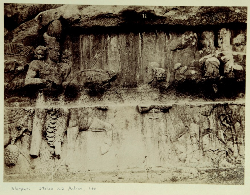 Photo, Sevruguin, Antoin,; b&w ; 19.8 cm. x 14.7 cm.; The Ernst Herzfeld papers. Freer Gallery of Art and Arthur M. Sackler Gallery Archives. Smithsonian Institution, Washington, D.C.