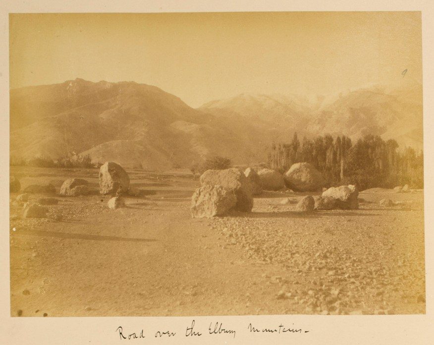 Sevruguin, Antoin,; b&w ; 22.6 cm. x 16.2 cm.; Stephen Arpee Collection of Sevruguin Photographs. Freer Gallery of Art and Arthur M. Sackler Gallery Archives. Smithsonian Institution, Washington D.C., 2011.