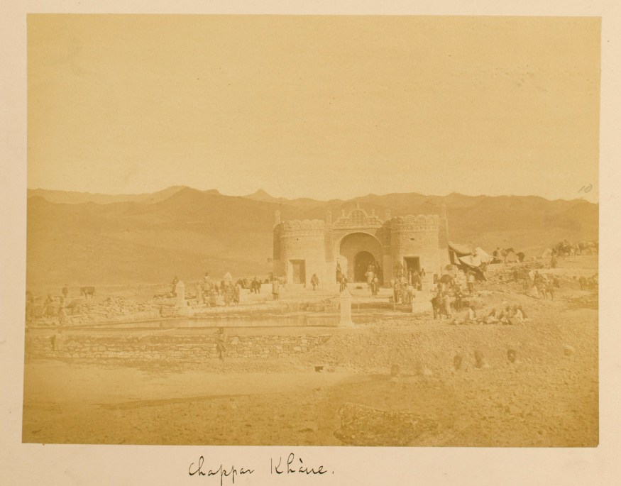 Sevruguin, Antoin,; b&w ; 20.7 cm. x 15.5 cm.; Stephen Arpee Collection of Sevruguin Photographs. Freer Gallery of Art and Arthur M. Sackler Gallery Archives. Smithsonian Institution, Washington D.C., 2011.