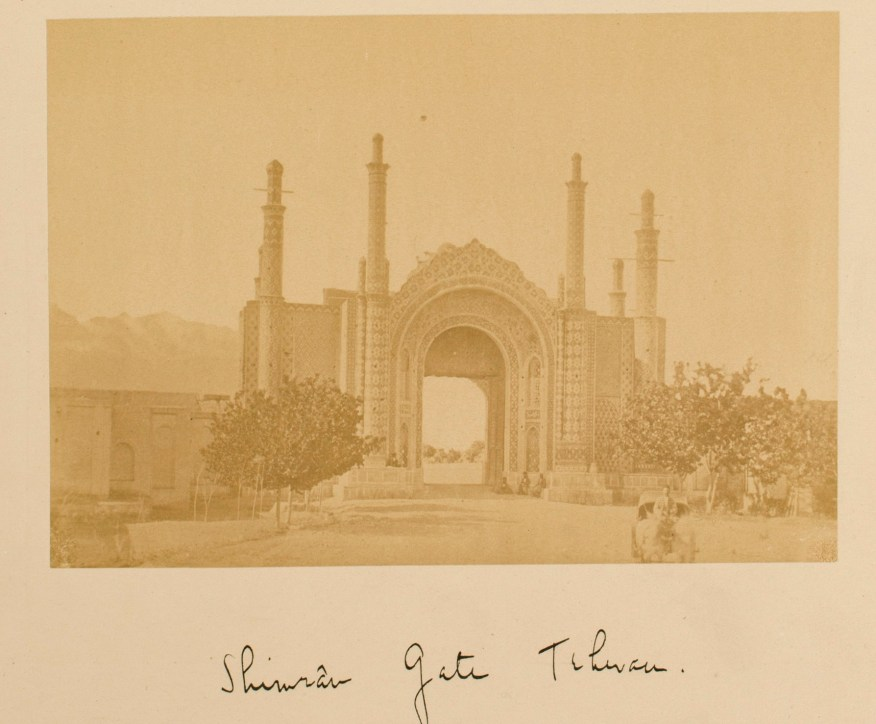 Sevruguin, Antoin,; b&w ; 15.8 cm. x 11 cm.; Stephen Arpee Collection of Sevruguin Photographs. Freer Gallery of Art and Arthur M. Sackler Gallery Archives. Smithsonian Institution, Washington D.C., 2011.
