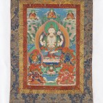 Shadakshari Avalokiteshvara, from a four-part set of thangkas Thangka