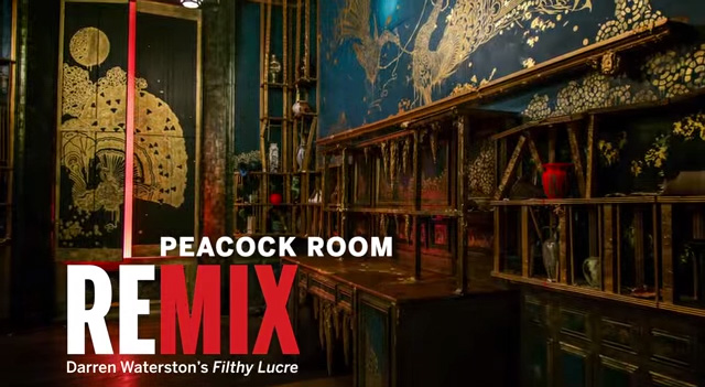 Peacock Room REMIX: Darren Waterston's Filthy Lucre