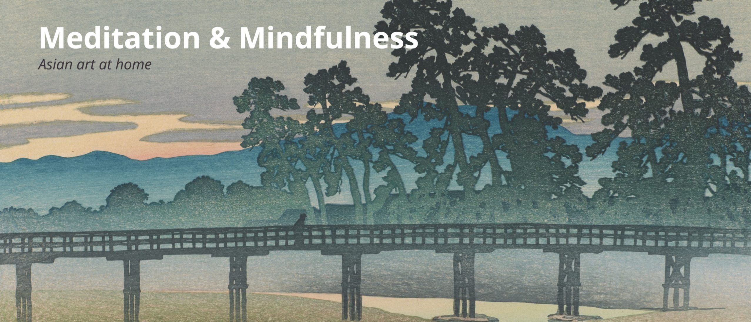 Online event: Meditation and Mindfulness