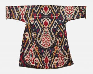 A late 19th-century woman's robe from Central Asia.