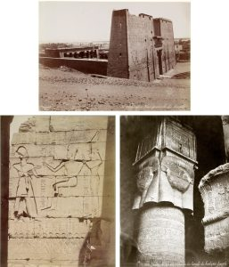 Photographs of Egypt, taken by French photographer Félix Bonfils in the 19th century.
