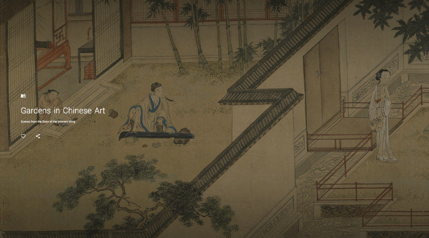 illustration of a family enjoying their home and garden