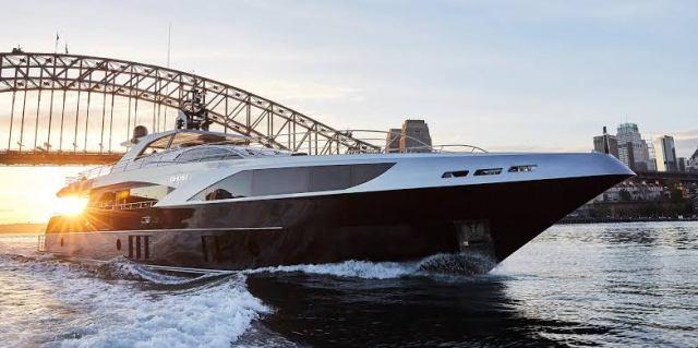 Ghost 2 Superyacht Hire Sydney