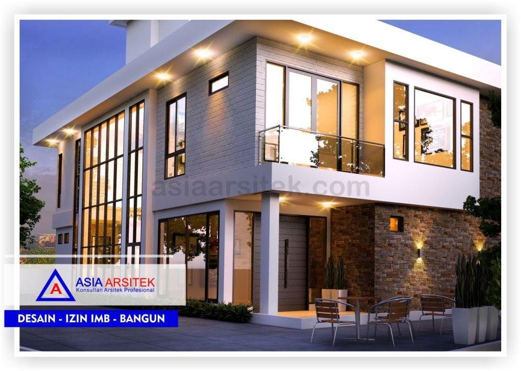 Rencana-Desain-Villa-Minimalis-2-Lantai-Bu-Kartini-Bogor-View-1