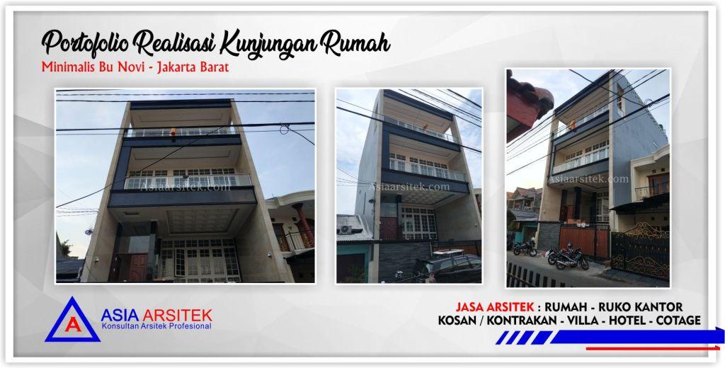 Arsitek Desain Rumah Minimalis Modern Bu Novi Di Tangerang-Jakarta-Bogor-Bekasi-Bandung-Jasa Konsultan Desain Arsitek Profesional - Desain Rumah Mewah - Arsitek Gambar Rumah Minimalis Modern 7