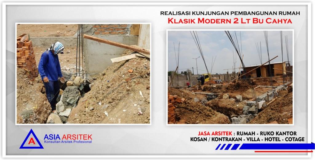 Realiasi-kunjungan-proyek-rumah-klasik-modern-2-lantai-bu-cahya-Bekasi-Barat-Asia-Arsitek-1