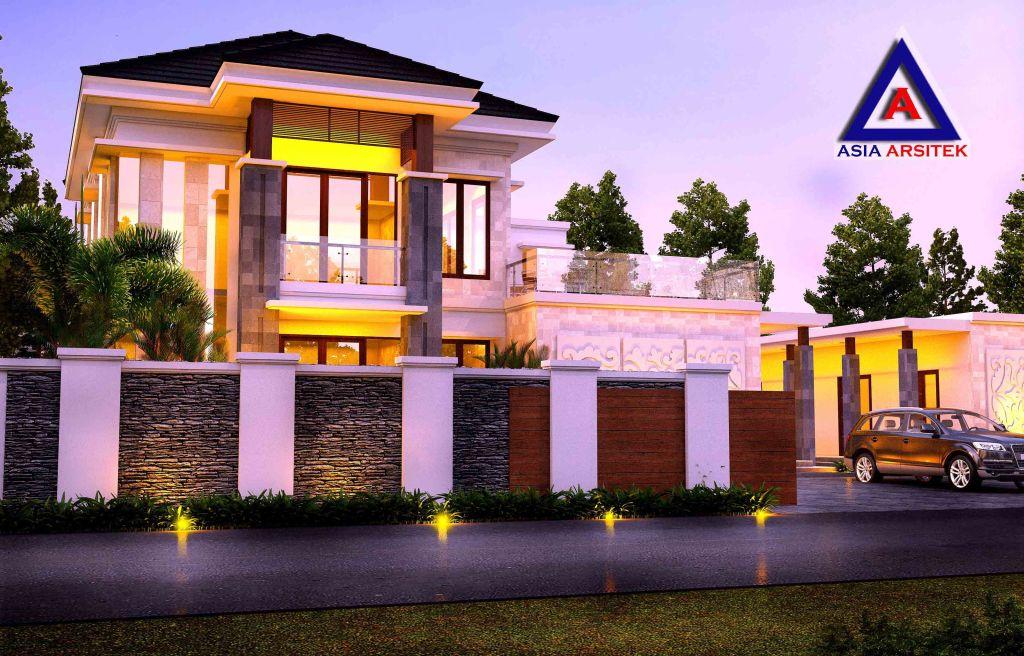 Desain Rumah Bali Model 2