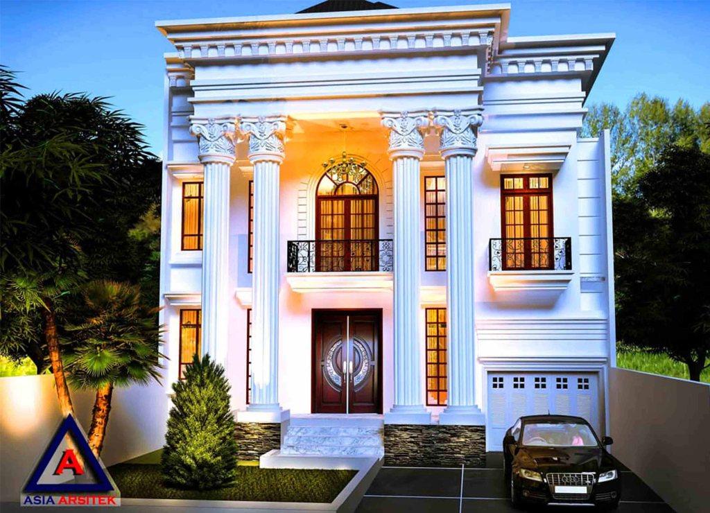 Desain Rumah Classic Model 1 - Desain Rumah Klasik Mewah