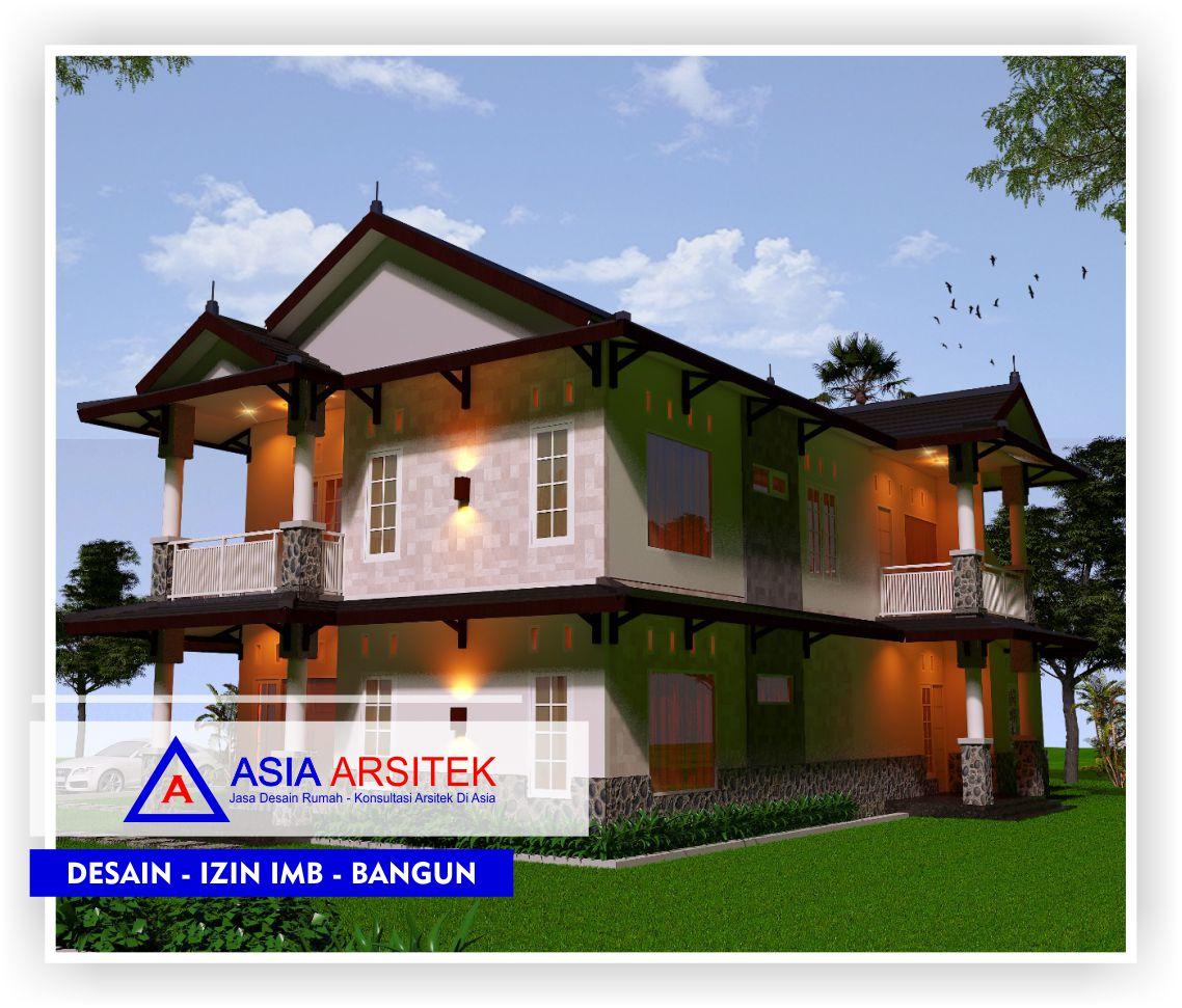 Rancangan-desain-rumah-bu-Lisda-arsitektur-belanda-2-lantai-view-2
