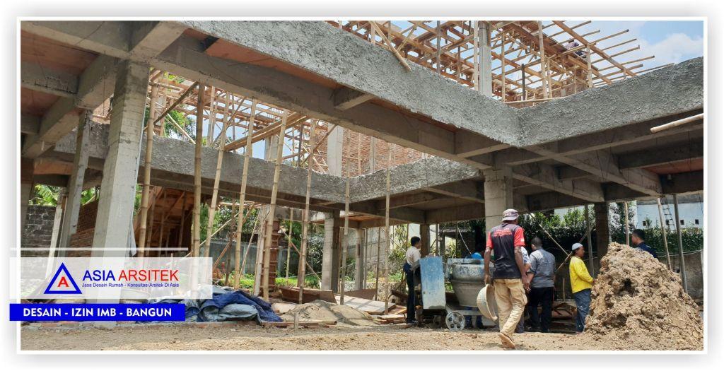 Struktur-balok-Proyek-Villa-Minimalis-2-Lantai-Bu-Kartini