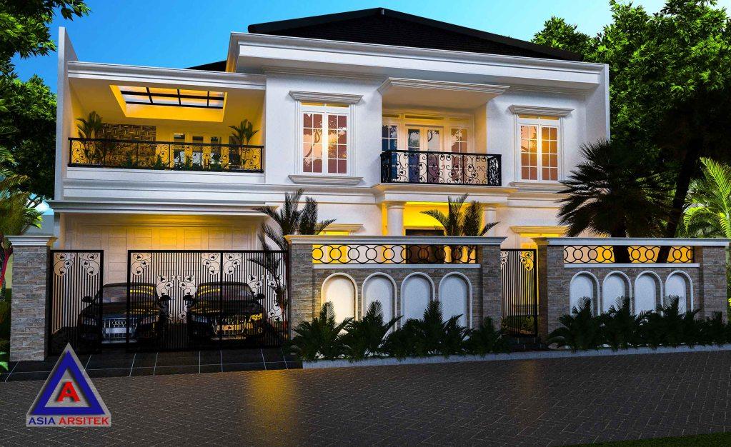Desain Rumah Tropis Modern Model 1
