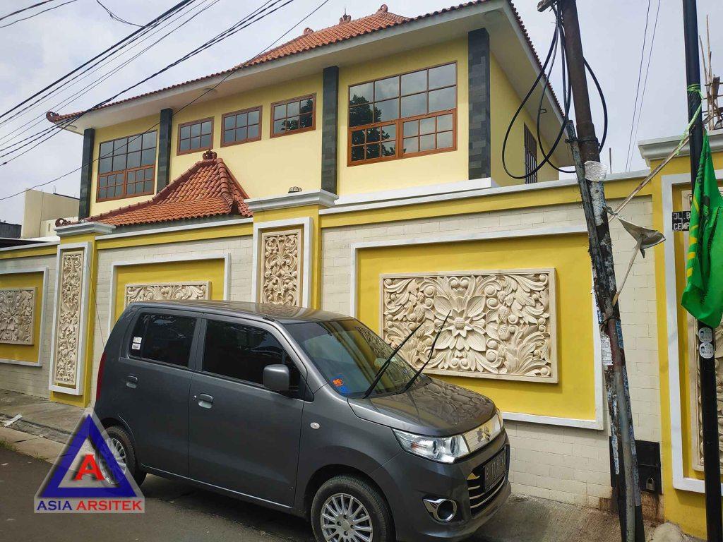 Realisasi Desain Rumah Semi Joglo Pak Rudy Di Tangerang