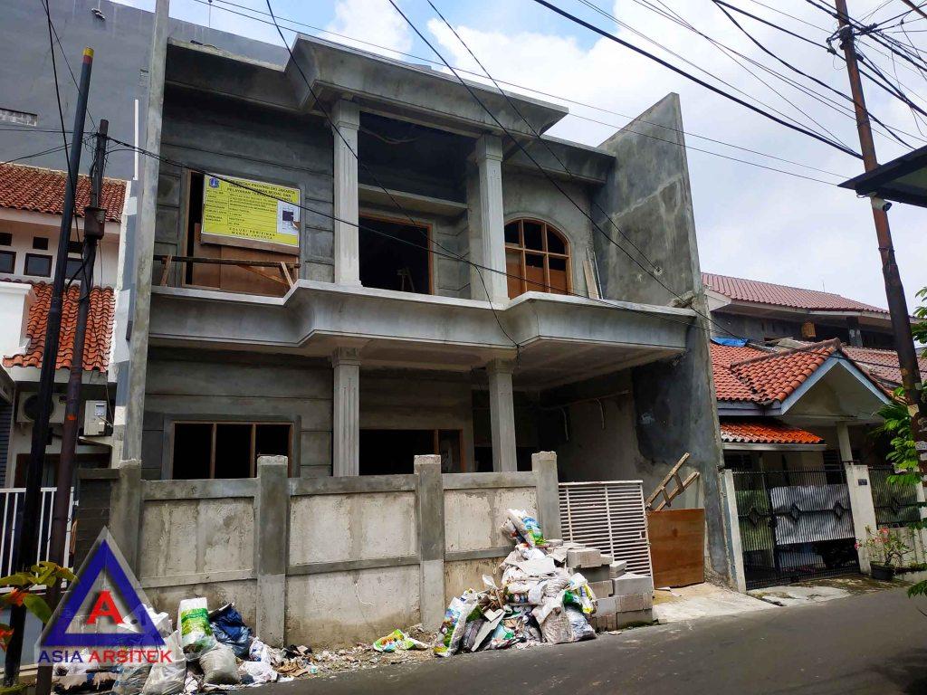 Realisasi Desain Rumah Tropis Ibu Melany Di Jakarta Timur Kunjungan Februari 2019