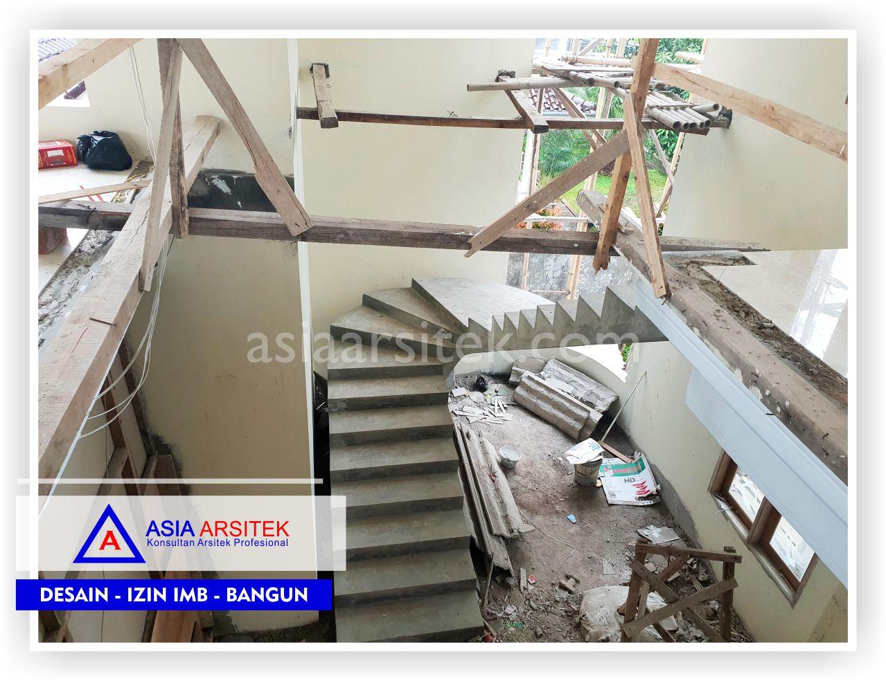 Area Tangga Rumah Klasik Mewah Bu Iis - Arsitek Desain Rumah Minimalis Modern Di Bandung-Tangerang-Bogor-Bekasi-Jakarta-Jasa Konsultan Desain Arsitek Profesional (2)