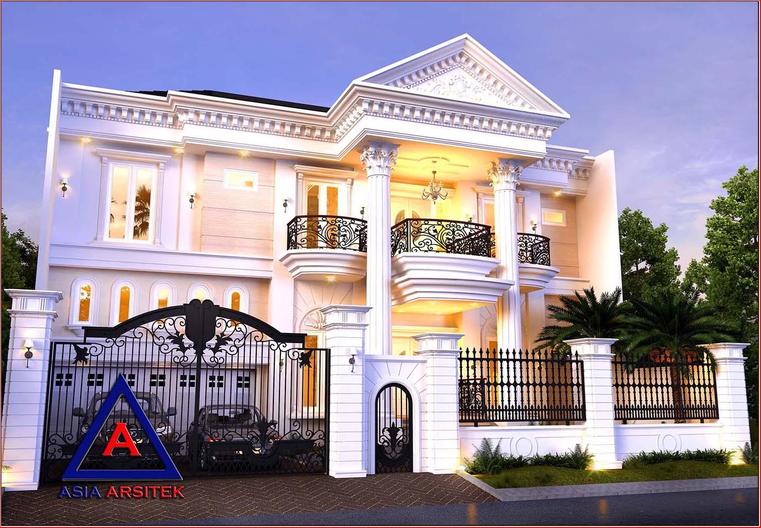 Jasa Arsitek Desain Rumah Mewah Classic Klasik Modern di ...