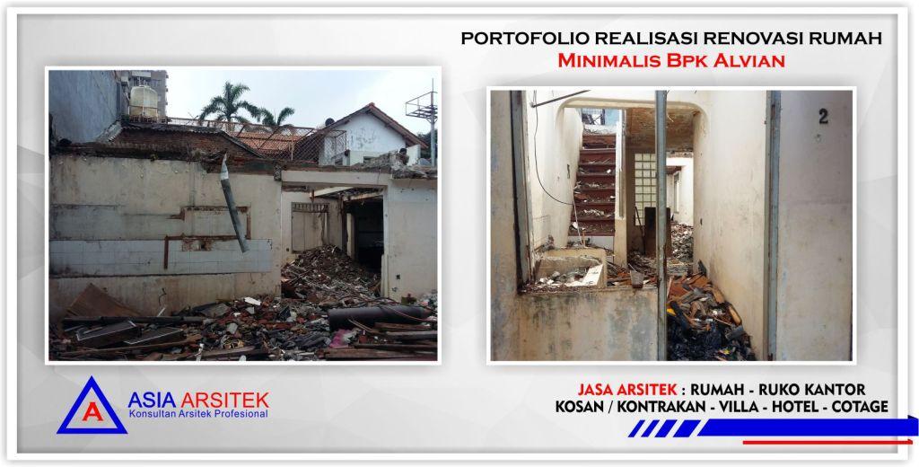 Portofolio Realisasi Rumah Minimalis Bpk Alvian Di Jakarta-Tangerang-Bogor-Bekasi-Bandung-Jasa Konsultan Arsitek Profesional - Desain Rumah Mewah - Arsitek Gambar Desain Rumah Klasik Mewah 1